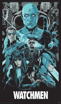 Watchmen  #superhero #hero #art #illustration #dark #comic #book #secretidentity #villain #goodandevil