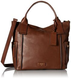 Fossil Emerson Satchel, Brown-I own this purse and I LOVE IT!