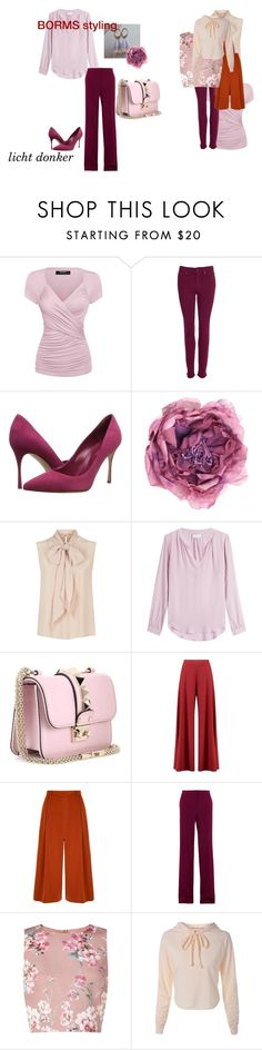 """licht donker"" by cat-line on Polyvore featuring mode, Barbour, Sergio Rossi, Gucci, MaxMara, Velvet, Valentino, Boohoo, Yumi en STELLA McCARTNEY"