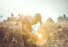 Sunset Engagement photos by Vaughn Barry Photography in Barrie, Ontario www.vaughnbarry.com #Engaged