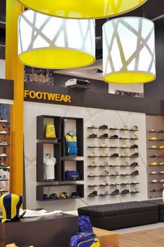Al Nassr retail store by Redesign Group, Riyadh Saudi Arabia sports