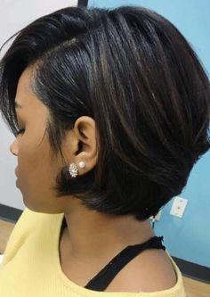 Short Hair Styles Easy, Short Hair Cuts, Medium Hair Styles, Natural Hair Styles, Hair Medium, Short Hair Girls, Natural Hair Bob, Easy Hairstyles For Medium Hair, Long Bob Hairstyles