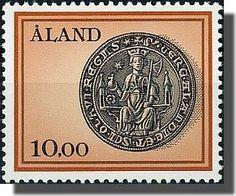 Aaland stamp
