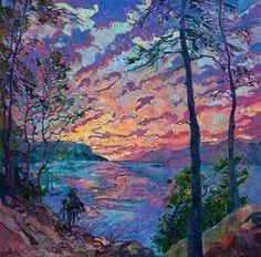 Wonderful Impressionism Paintings by American Artist Erin Hanson - The Erin Hanson Gallery instagram.com/erinhansonartist www.erinhanson.com