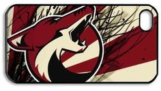 Amazon.com: Cool Creative NHL Phoenix Coyotes New Art Logo Hard iPhone 4/4s Cover Case: Electronics