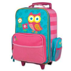 LUGGAGE  OWL - TEAL (S14)