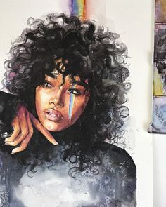 What is Your Painting Style? How do you find your own painting style? What is your painting style? Black Girl Art, Art Girl, Watercolor Portraits, Watercolor Paintings, Watercolor Trees, Watercolor Landscape, Abstract Paintings, Oil Paintings, Painting Art