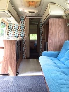 Check out the restoration of the 1976 vintage airstream with before and after photos. A real stunner!