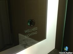 The wellness lighting in the bathroom gives a shot of melatonin. Mgm Grand Las Vegas, Hotel Stay, Wet Rooms, Hotels And Resorts, How To Introduce Yourself, Wellness, Bathroom, Lighting, Building