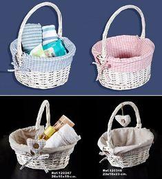 Newspaper Basket, Newspaper Crafts, Baby Boy Shower, Baby Shower Gifts, Baby Gifts, Mosses Basket, Wicker Picnic Basket, Baby Shawer, Flower Girl Basket