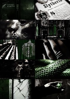 houses of hogwarts → slytherin