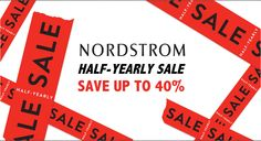 Get online update Nordstrom Half Yearly Sale Dates 2016 or 2017 at allonlinepromocodes.com