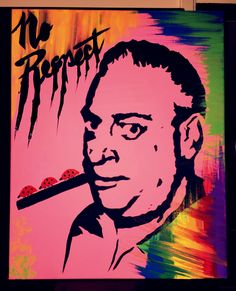 No Respect for Rodney Pop Art Painting by ThatsHighlyOffensive on Etsy https://www.etsy.com/listing/229498475/no-respect-for-rodney-pop-art-painting