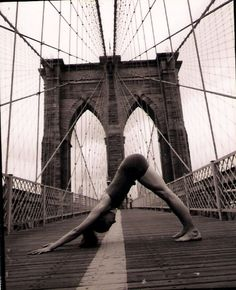 Adho Mukha Svanasana, Downward Facing Dog #Brooklyn #NYC #NewYork #Yoga #YogaEverywhere #YogaEveryDay