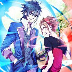 Fushimi x Yata #sarumi