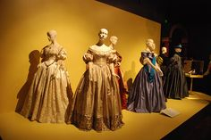 The Young Victoria Costumes at FIDM Costume Exhibit by ExperienceLA, via Flickr
