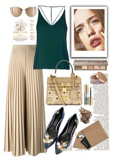 """""""Sin título #159"""" by thekeystylist on Polyvore featuring moda, Givenchy, Marc Jacobs, Topshop, MCM, STOW, Urban Decay, Yves Saint Laurent, Dolce&Gabbana y Forever 21"""