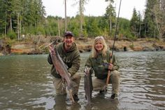 """""""Staying active, dry and warm was simple on this winter steelhead fishing trip, thanks to our Dry-Plus waders."""" #HaugensGearPicks"""