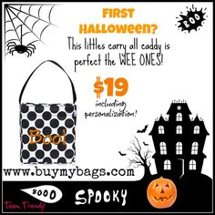 A Littles Carry All is definitely perfect for the little ones during trick-or-treating! #Org31