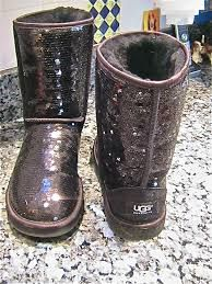Sparkly Uggs!