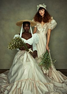Sustainable Bridal Fashion from Bowen Dryden: Introducing The Poem Collection Bridal Hat, Bridal Style, Bridal Separates, Black Bride, Black Girl Aesthetic, Wedding Dress Shopping, Tiered Dress, Designer Wedding Dresses, Beautiful People