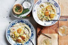 Lemon Desserts, Lemon Recipes, Oregano Chicken, Delicious Magazine, Risotto Recipes, Baked Fish, Serving Dishes, Main Meals, Dinner Recipes