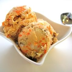 Carrot Cake Ice Cream - I am keeping this recipe for the day that I buy an ice cream maker.