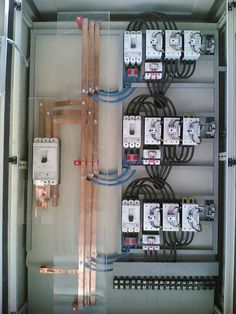 Who Buys Landscaping Rocks Electrical Panel Wiring, Electrical Cabinet, Electrical Circuit Diagram, Electrical Work, Electrical Projects, Electrical Installation, Electronics Projects, Electronic Engineering, Electrical Engineering