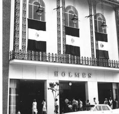 """DH Holmes New Orleans in the 1960's. I remember it this way in 1970s. The Ignatius Reilly statue is there now, right """"under the clock."""""""
