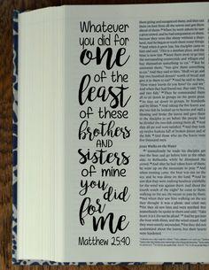 MATTHEW 4 Bible journaling printable by BibleVerseColoring