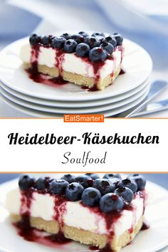 Blueberry cheese cake with goat cream cheese - Blaubeeren / Heidelbeeren-Rezepte - Berry Smoothie Recipe, Easy Smoothie Recipes, Snack Recipes, Betty Crocker, Homemade Frappuccino, Coconut Milk Smoothie, Coffee Cupcakes, Grilled Fruit, Blueberry Cheesecake