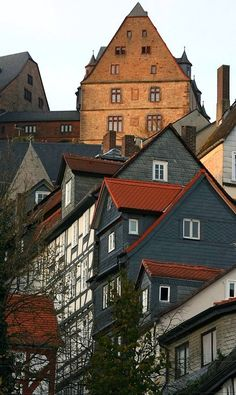 The Town of Marburg, Hesse, Germany | by Petra Schwarzer