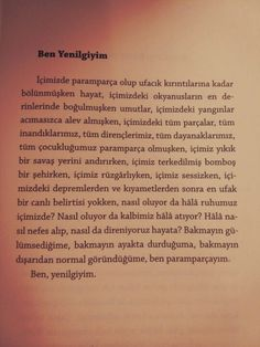 Ve her bir parçamı ayrı yere bıraktım. Pretty Words, Cool Words, Poetry Quotes, Book Quotes, Sad Life, Instagram Story Ideas, Powerful Words, Make A Wish, Meaningful Quotes
