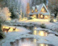 Kinkade-Winter (130 pieces)