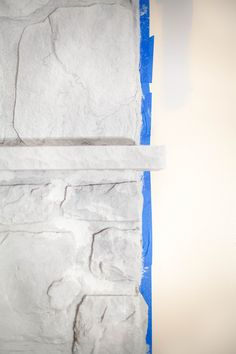 How To Whitewash A Stone Fireplace – Coffee With Summer – Stone fireplace living room Whitewash Stone Fireplace, White Stone Fireplaces, Stone Fireplace Makeover, Painted Brick Fireplaces, Paint Fireplace, Rock Fireplaces, Home Fireplace, Living Room With Fireplace, Fireplace Ideas
