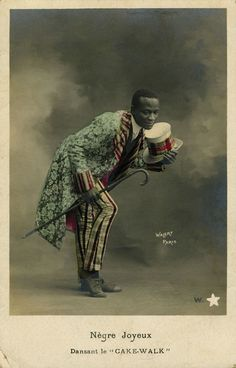 """""""Nègre Joyeux Dansant le """"CakeWalk"""" in """"Black Europe"""", The first comprehensive documentation of the sounds and images of black people in Europe pre-1927"""