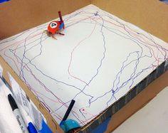 Have your crabs create art! #DIY - PetDIYs.com