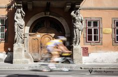 Tour of Sibiu - photo coverage by Gabriel Amza, via Behance- Cariatide's House