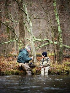 Take your boy fishing and instill in him a love that he will carry with him forever.