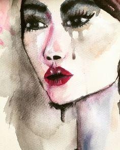 L L U E V O  Vanessa Datorre Watercolor