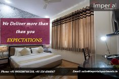 Imperial Apartments offers luxurious service apartments in Gurgaon. Fully Furnished Apartments, Serviced Apartments, Free Gas, Luxury Services, Own Home, Home Decor, Decoration Home, Room Decor, Home Interior Design