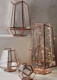 Déco Salon  4/ Préférer les lanternes graphiques aux lanternes classiques