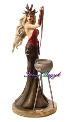 Jessica Galbreth Goddess Series 3 Cerridwen Figurine
