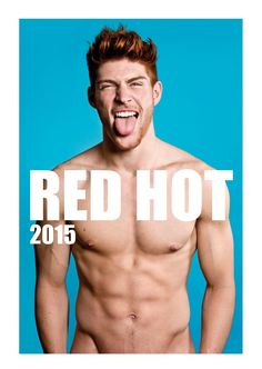 #redhot #redheads Calendar - Capture the spirit of the RED HOT exhibitions and tour in a calendar for anyone who appreciates hot men with red hair. £20