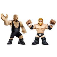 WWE Mattel le rock Exclusive Rumblers Key Chain Ring Wrestling Figure