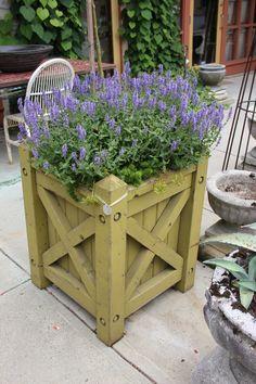 Oversize wood planter boxes Henhurst Interiors - All About