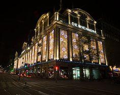 De Bijenkorf Amsterdam turn on the lights