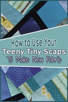 Crumb Quilt Technique Tutorial – Crumb Quilting Here is a great stash buster for all those teeny tiny pieces of fabric. Create large pieces of fabric for your quilting and sewing projects. Crumb quilting is so much fun to do. Quilting Tips, Quilting Tutorials, Quilting Projects, Sewing Tutorials, Crazy Quilt Tutorials, Scrap Fabric Projects, Beginner Quilting, Quilting For Beginners, Sewing Patterns Free