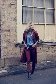 Zanita wearing Neuw Denim Brick Marilyn Skinny Jeans