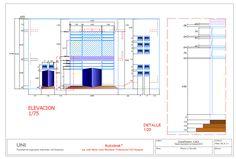 Clase de Impresion Autocad, Floor Plans, Impressionism, Floor Plan Drawing, House Floor Plans